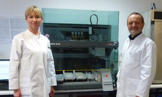 Mariola Richter and Dr Johann-Wolfgang Wittke